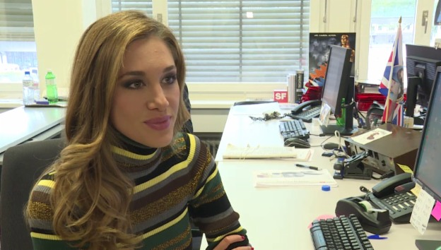 Video «Bianca Gubser blickt auf ihre Woche zurück» abspielen