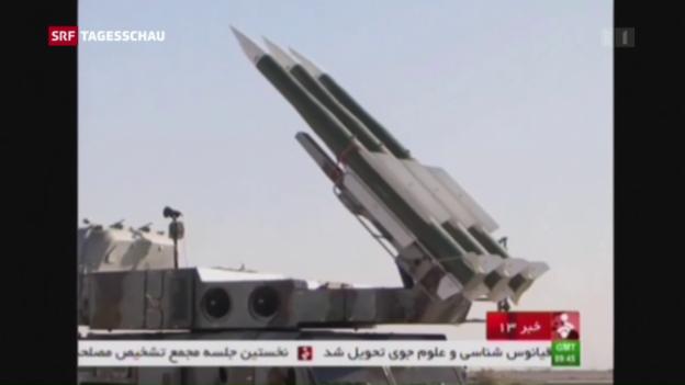 Video «Iran lässt die Muskeln spielen» abspielen