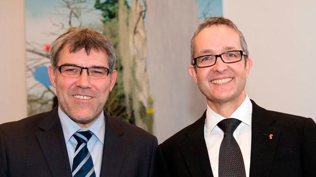 Nussbaumer und Weber weibeln im Laufental (Patrick Künzle, 28.03.2013)