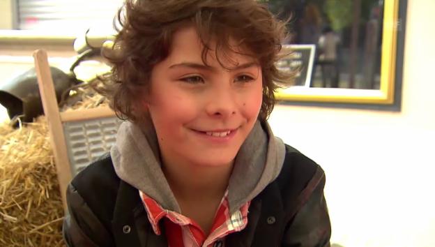 Video «Jonas Hartmann über seine Rolle als «Schellen-Ursli»» abspielen