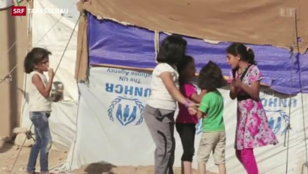 Video «Schluss mit erleichterten Visa für Syrer» abspielen