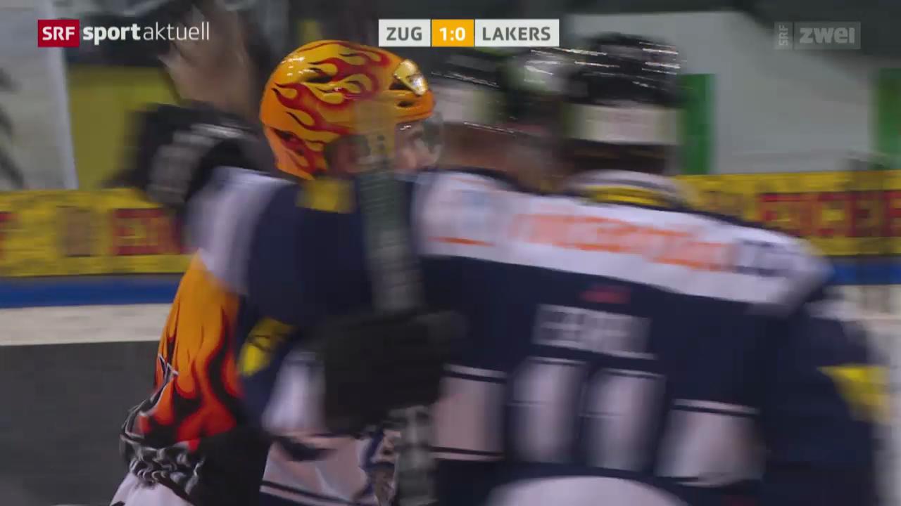 Eishockey: Zug - Lakers