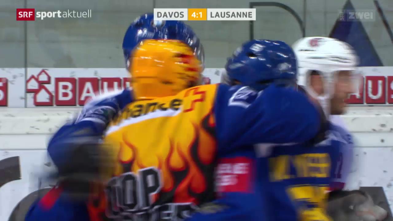 Eishockey: Davos - Lausanne