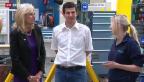 Video «Jill Biden interessiert sich fürs duale Bildungssystem» abspielen