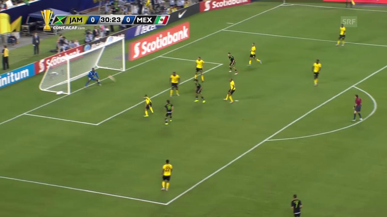 Fussball: Final Gold Cup, 1:0 durch Mexikos Guardado