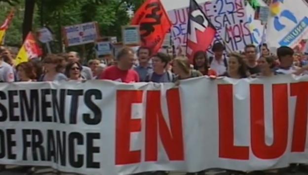 Video «Politik und Gesellschaft: Streiken (6/12)» abspielen