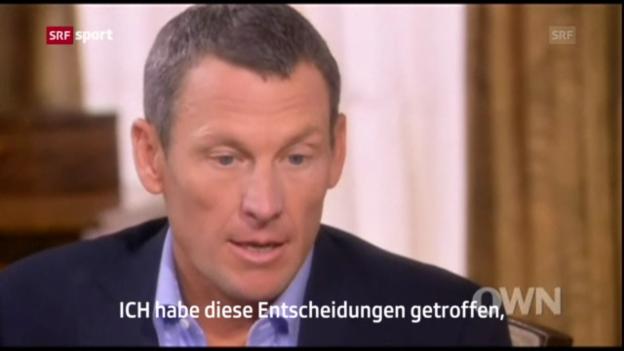 Video «Armstrong gesteht Dopingmissbrauch («sportaktuell»)» abspielen