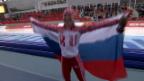 Video «Zusammenfassung Eisschnelllauf 3000m Frauen (9.2.2014)» abspielen