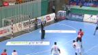 Video «Handball: Schweiz - Mazedonien» abspielen