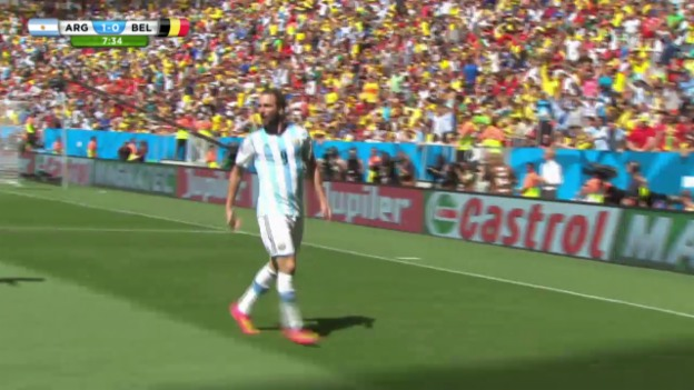 Video «FIFA WM 2014: Argentinien - Belgien: Die Live-Highlights» abspielen