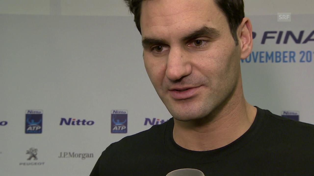 Federer: «Das ist eine harte Gruppe»