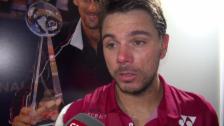Video «Wawrinka: «Habe nicht das beste Tennis von mir erwartet» (franz.)» abspielen