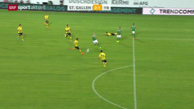 Video «Fussball: Das «Traum-Eigentor» von Milan Gajic («sportaktuell»)» abspielen