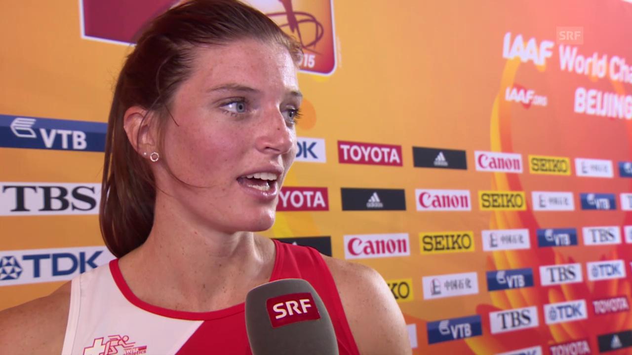 LA: WM Peking, Lea Sprunger im Interview