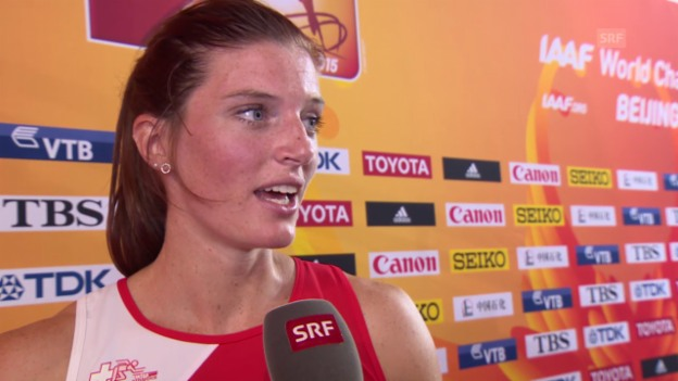Video «LA: WM Peking, Lea Sprunger im Interview» abspielen