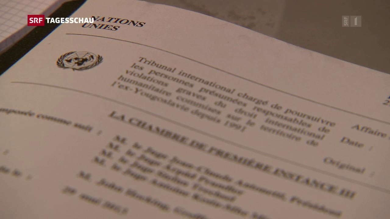24 Jahre Kriegs-Verbrecher-Tribunal