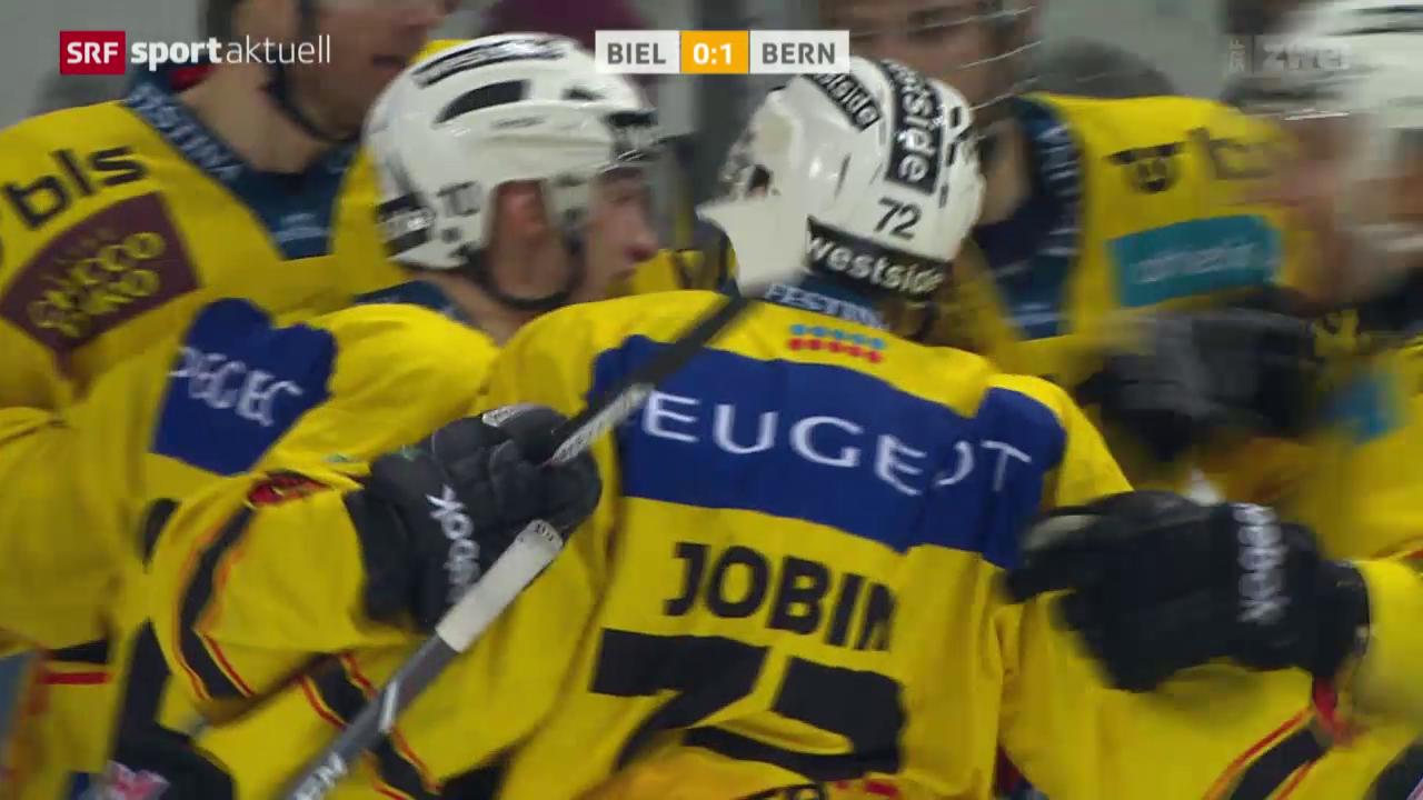 Eishockey: Biel - Bern