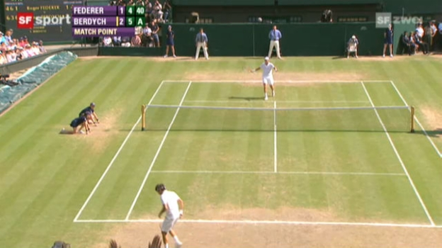 Video «Wimbledon: Federer - Berdych» abspielen