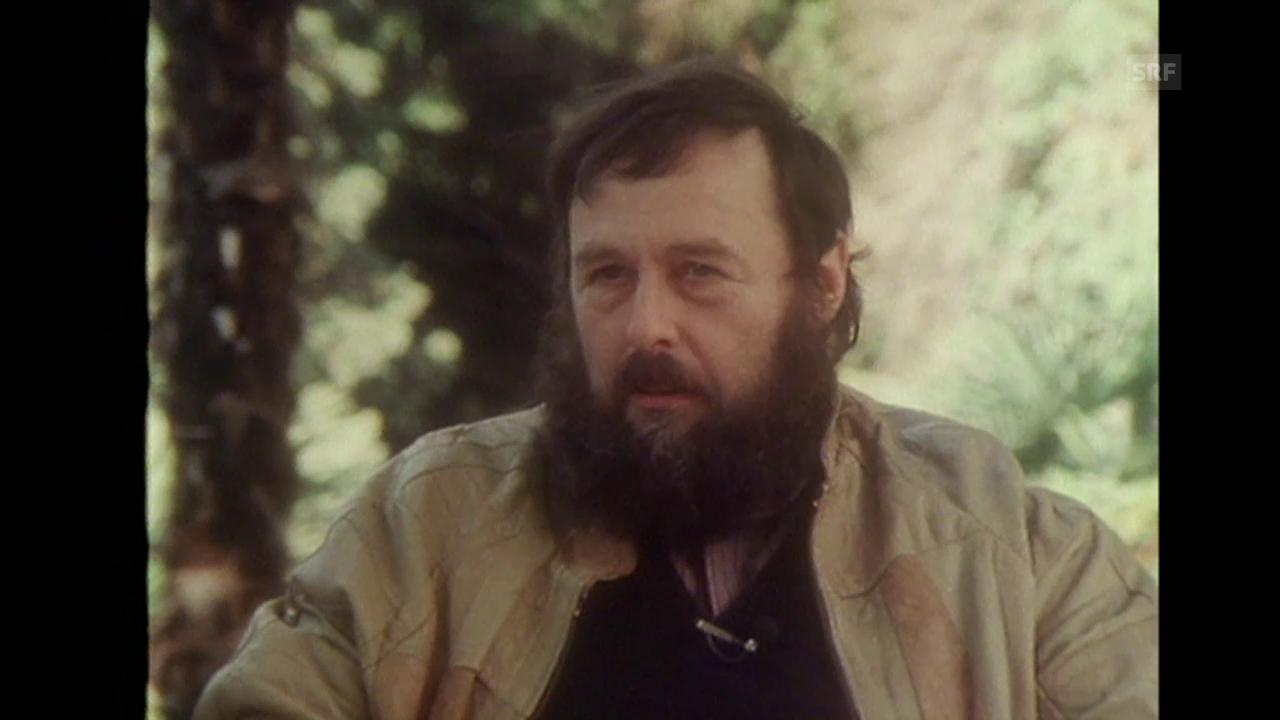 Harals Szeemanns Ausstellung auf dem Monte Verità (Sendung «Schauplatz» vom 13.6.1986