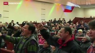 Video «Augenschein im Osten der Ukraine » abspielen