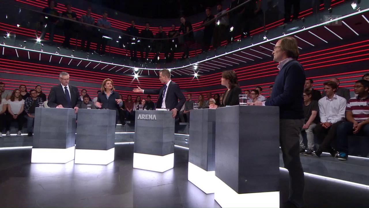 «Arena» zum Asyl-Notfallplan: Schweiz gewappnet?