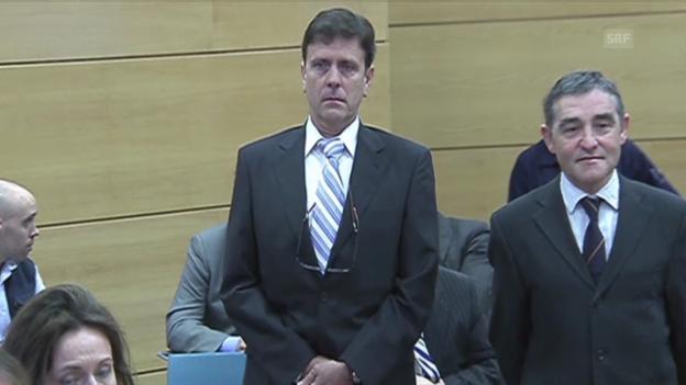Video «Rad: Eufemanio Fuentes zu bedingter Gefängnisstrafe verurteilt» abspielen