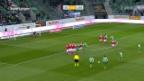 Video «St. Gallen beendet Luganos Siegesserie» abspielen