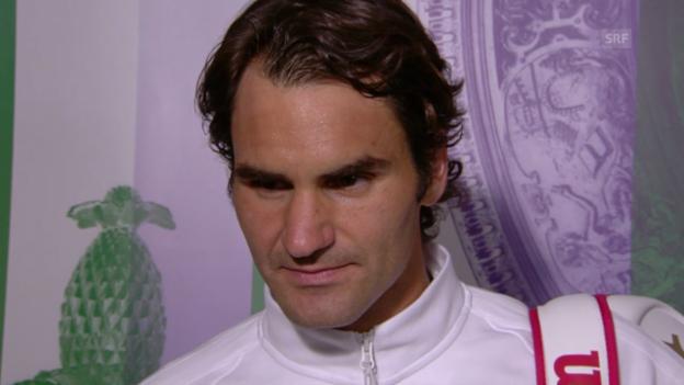 Video «Interview mit Roger Federer (englisch)» abspielen