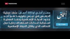 Video «Nizza: IS beansprucht Tat für sich» abspielen