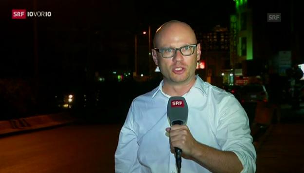 Video «Pascal Weber: «Waffenlieferung ist nur kurzfristig hilfreich»» abspielen