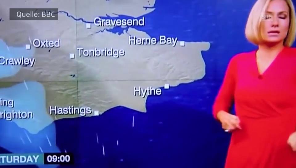 «BBC»-Wettermoderatorin bricht zusammen
