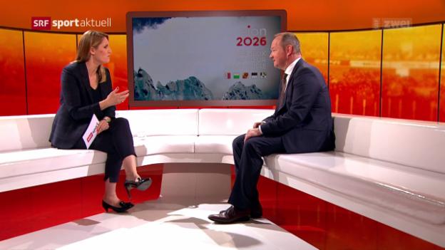 Video «Olympische Spiele: Jürg Stahl im Gespräch, Teil 2» abspielen