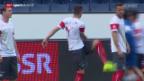 Video «Fussball: Die Schweiz vor dem Testspiel gegen Jamaika» abspielen
