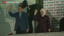 Video «Erdogan gewinnt Präsidentschaftswahl» abspielen