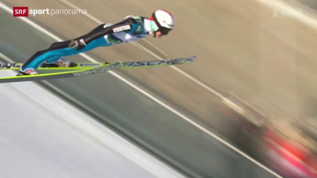 Video «Skispringen: Ammann beendet Saison vorzeitig» abspielen