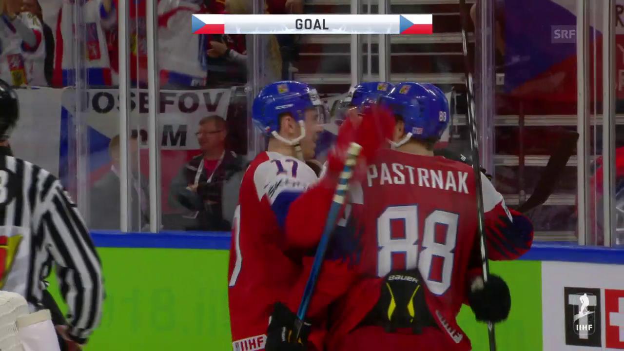 Die Tore bei Tschechien - Russland