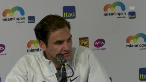 Link öffnet eine Lightbox. Video Federer: «Es ist einfacher, auf zwei Belägen zu bleiben» abspielen