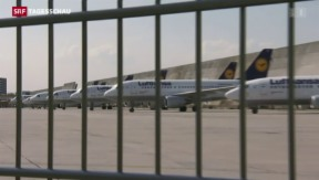 Video «Absturz trifft Lufthansa in heikler Situation» abspielen