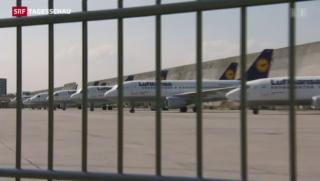 Video «Absturz trifft Lufthansa in heikler Situation» abspielen