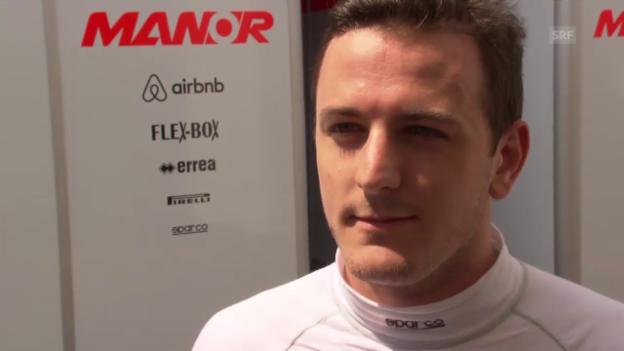 Video «Fabio Leimer über seine Trainingseindrücke» abspielen