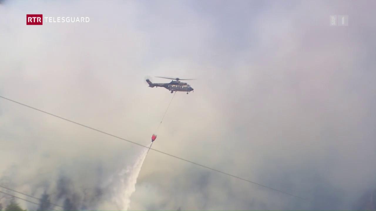 Grond incendi en Val Mesauc