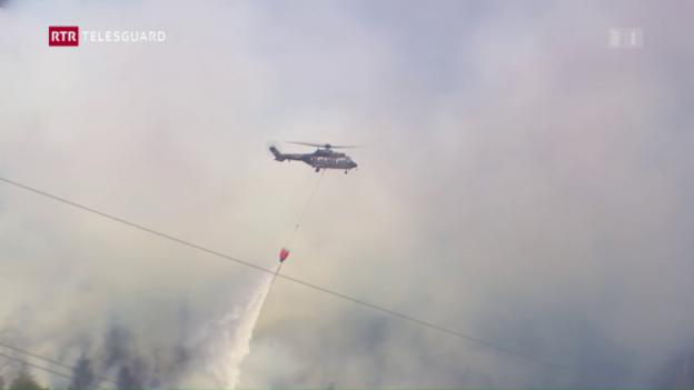 Laschar ir video «Grond incendi en Val Mesauc»
