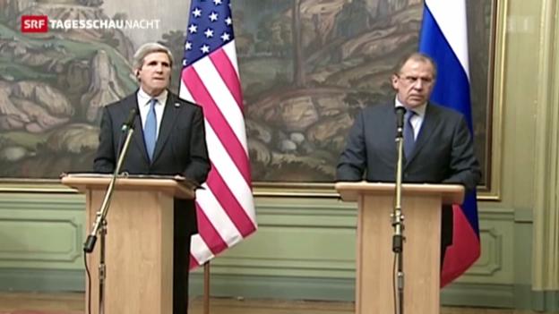 Video «USA und Russland planen Syrien-Konferenz» abspielen