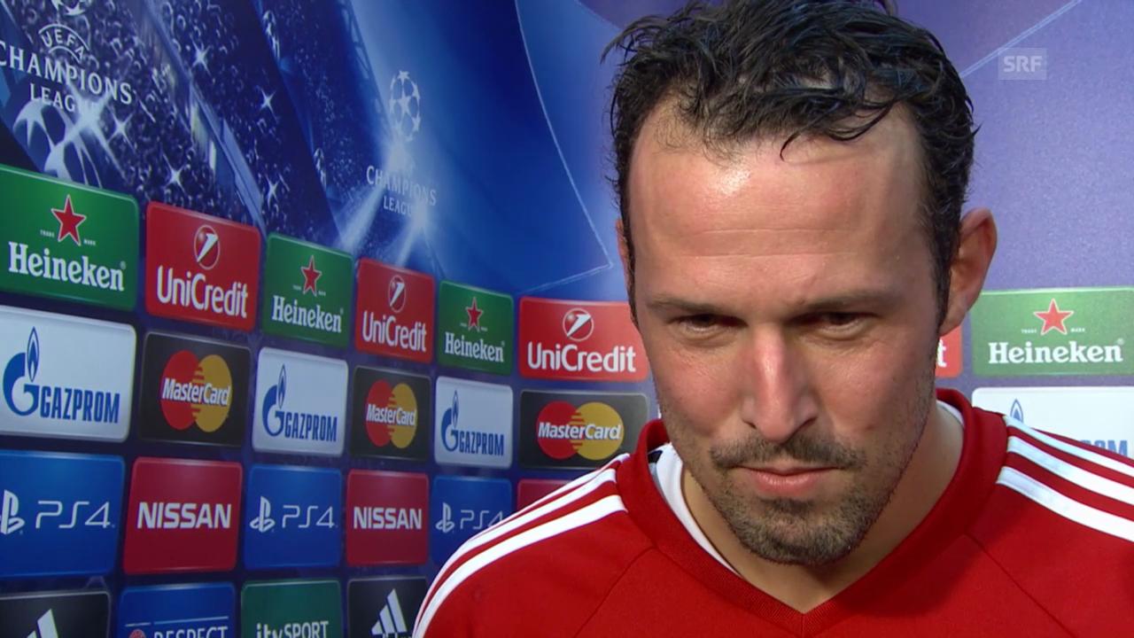 Fussball: Champions League, Marco Streller im Interview