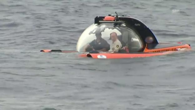 Video «Putin mit Mini-U-Boot unterwegs» abspielen