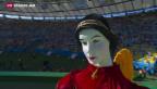 Video «Final-Stimmung im Maracanã in Rio» abspielen