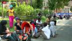 Video «Flüchtlinge sitzen in Italien fest» abspielen