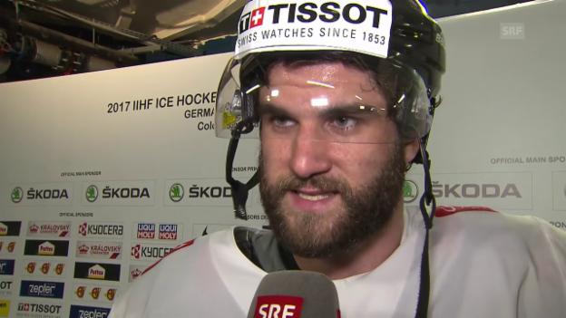 Video «Schlumpf: «Schade, dass der Treffer nicht gezählt hat»» abspielen