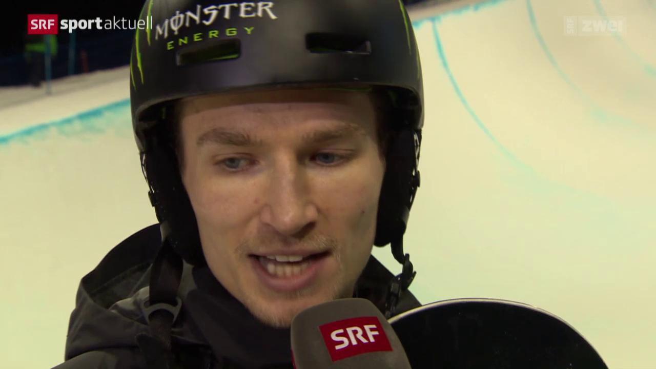 Snowboard: WM, Podladtchikov im Halfpipe-Final