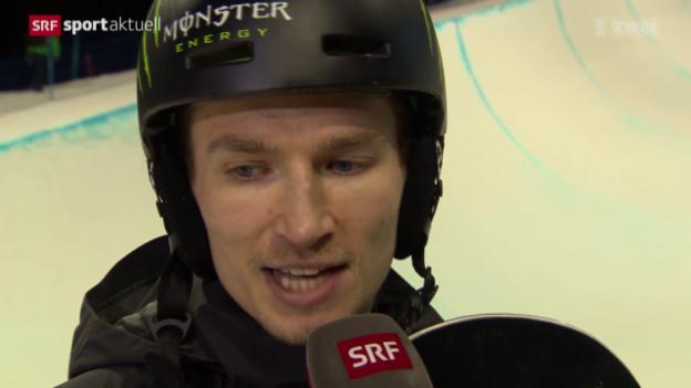 Video «Snowboard: WM, Podladtchikov im Halfpipe-Final» abspielen